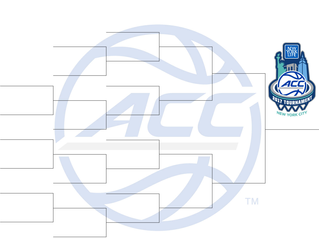 image about Acc Tournament Bracket Printable identified as ACC basketball match are living upgrades: Duke-North Carolina